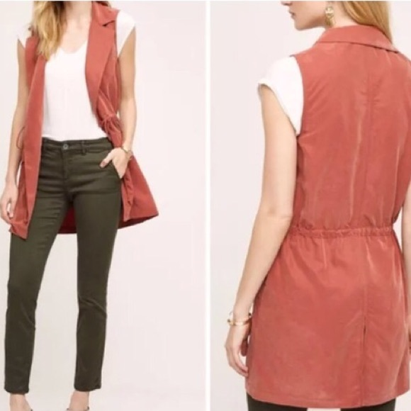 Anthropologie Jackets & Blazers - NWOT Anthropologie Elevenses Old Town Utility Vest